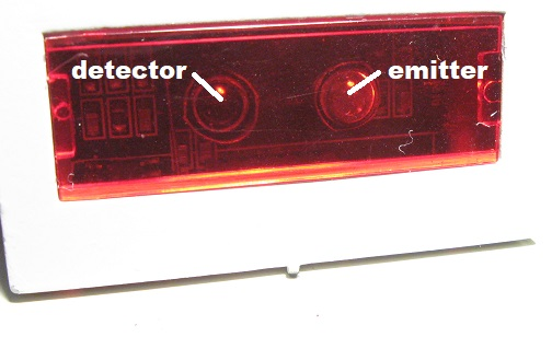 153IR emitter and detector