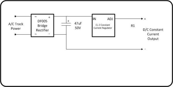easy circuit for constant lighting