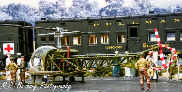 Hospital train in Beawslaiw #6