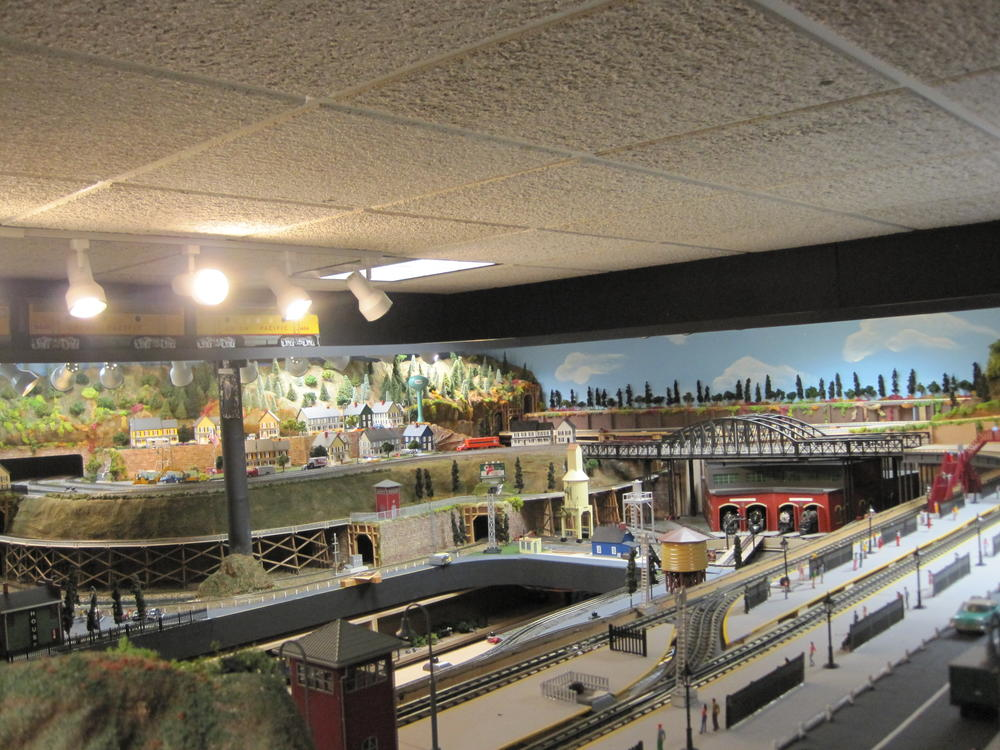 Ceiling Layout O Gauge Railroading On Line Forum