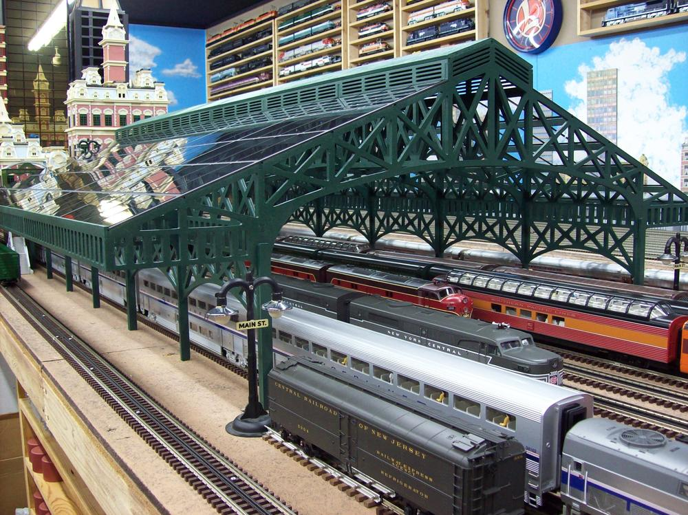 Train Sheds Offered For New Train Stations O Gauge