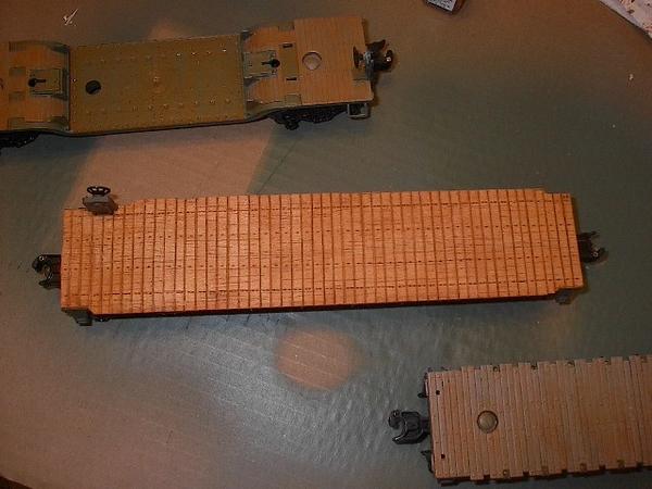 IM005856 wooden deck flatcar 5-6-07