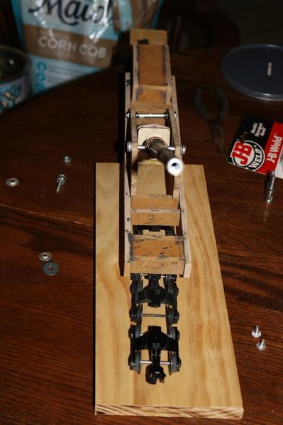 14 in Railway Gun Model build 10-14-19