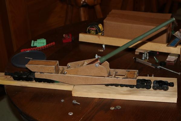 Model Railway Gun build 10-14-19