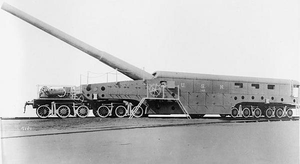 Obusier-de-520-modele-1916_1 NAVY WWl Rail Gun