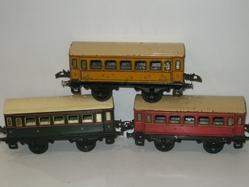 1st and 2nd class coach trio