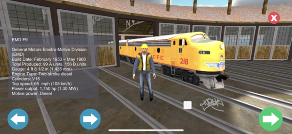 1 Train Sims