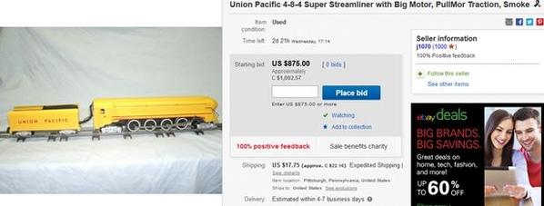 custom 'S' locomotive
