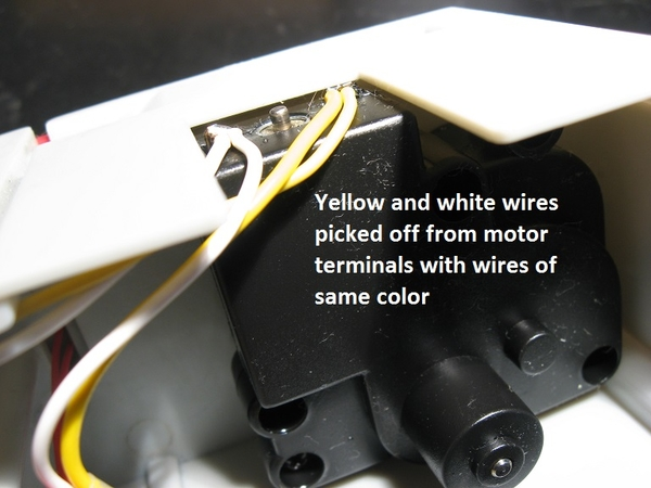 yellow-white connections