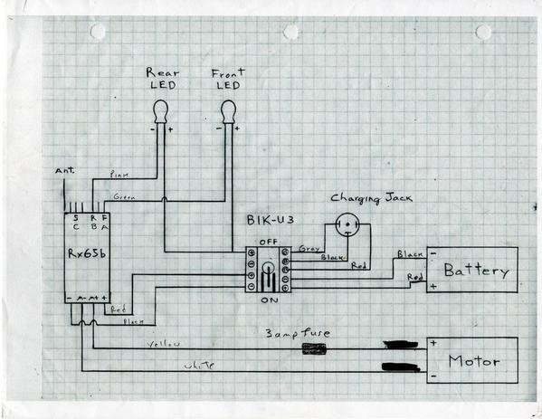Single Motor Wiring Diagram