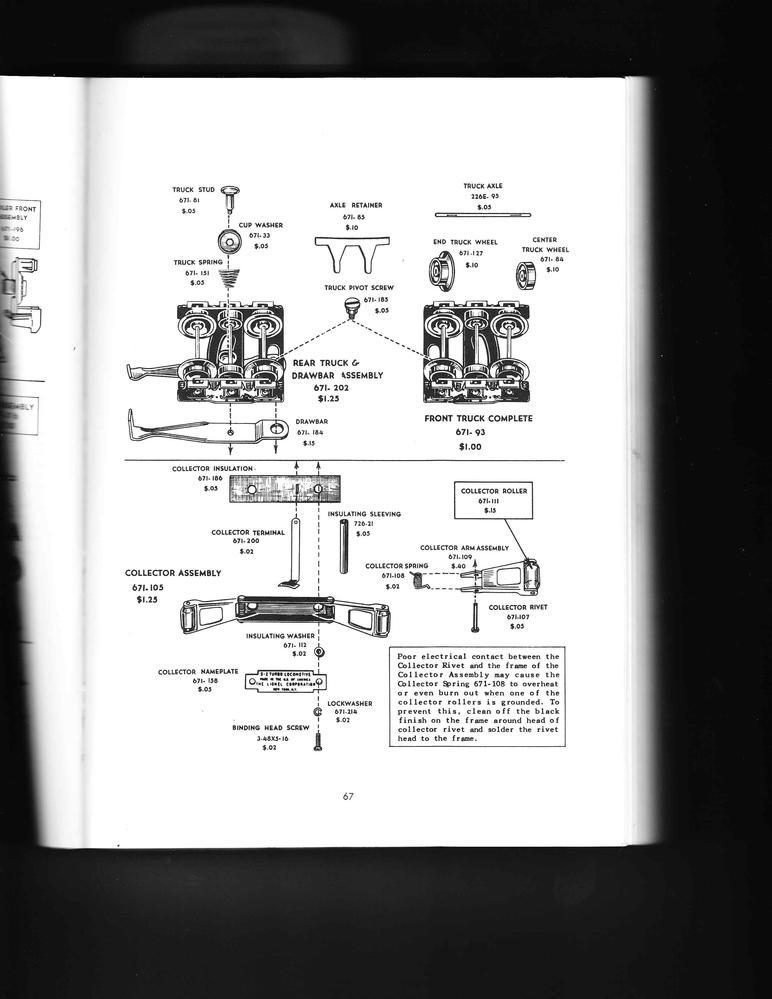 Lionel 671 Motor Repair Parts – Lionel 726 Wiring-diagram