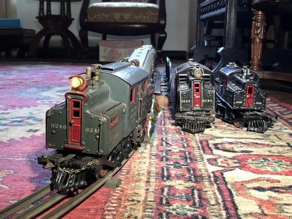 Ives Gauge One trains 1