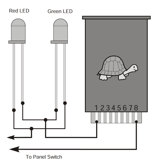 wiring leds_7 led's for control panel o gauge railroading on line forum  at panicattacktreatment.co
