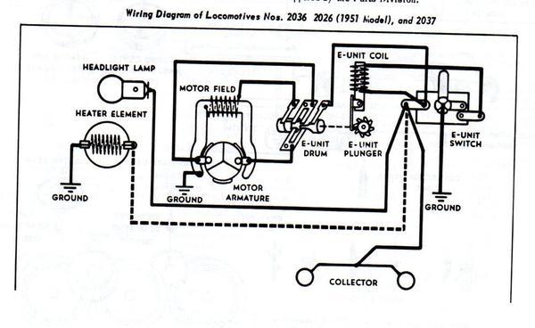 locomotive wiring diagrams please help me get this motor running  o gauge railroading on  o gauge railroading on
