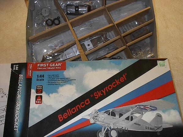 First Gear Bellanca Skyrocket die cast kit 70-0512