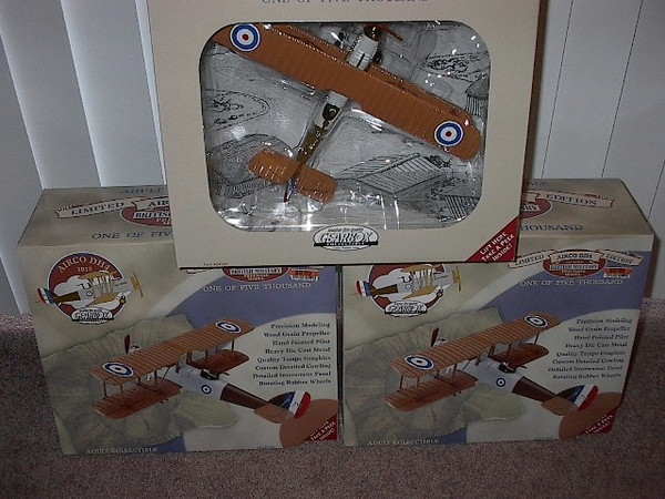 Gearbox Airco DH4 British BiPlanes[3) item#04501
