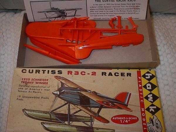 Hawk Model Co. Curtis R3C-2 Racer Float Plane #620-50