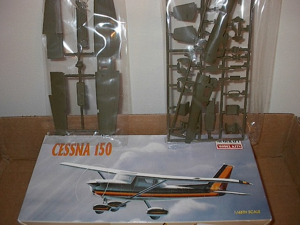 Minicraft Cessna 150 Army scout plane