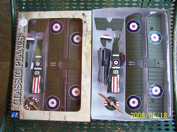 New Ray Classic Planes Sopwith Camel F-1, item #20227 [2 planes)