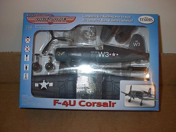 Testors F-4U Corsair Navy Fighter,#890005