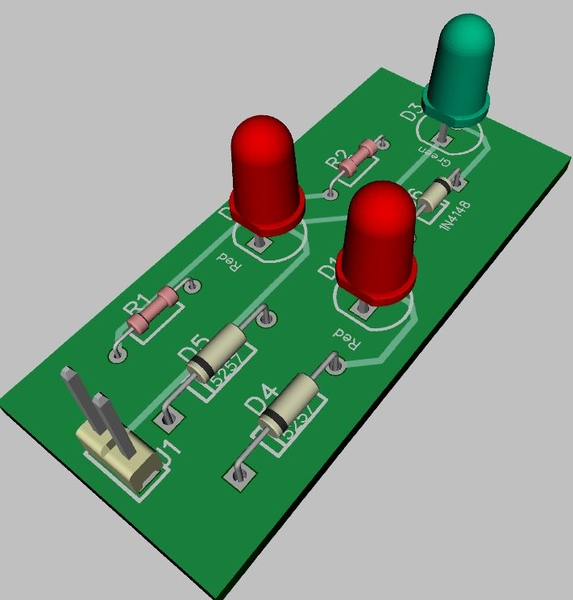 Track Spike Detector 3D View
