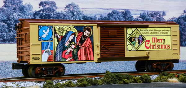 MTH Christmas Nativity Box Car #2006