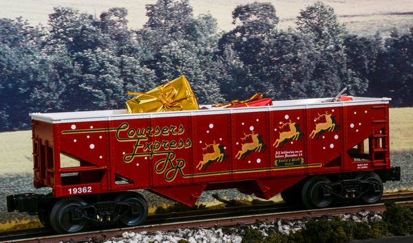 Lionel Courser's Express RR Christmas Gifts Hopper