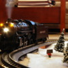 MTH UP Mikado Steaming Up on the Christmas Shortline