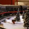 F-7 Passing thru the Christmas Village