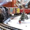 Smoking Christmas Freight Train