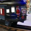 Santa on the Polar Express Observation Car #2-069