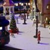 Santa on the Polar Express Observation Car-065