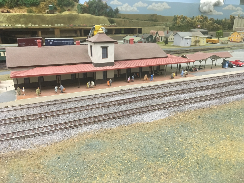 Mifflin County Model Railroad Club. | O