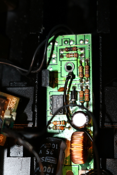 Close up MTH BB 4012 CV lighting board