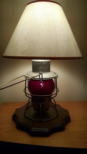 B&O Brakeman's Lantern 1