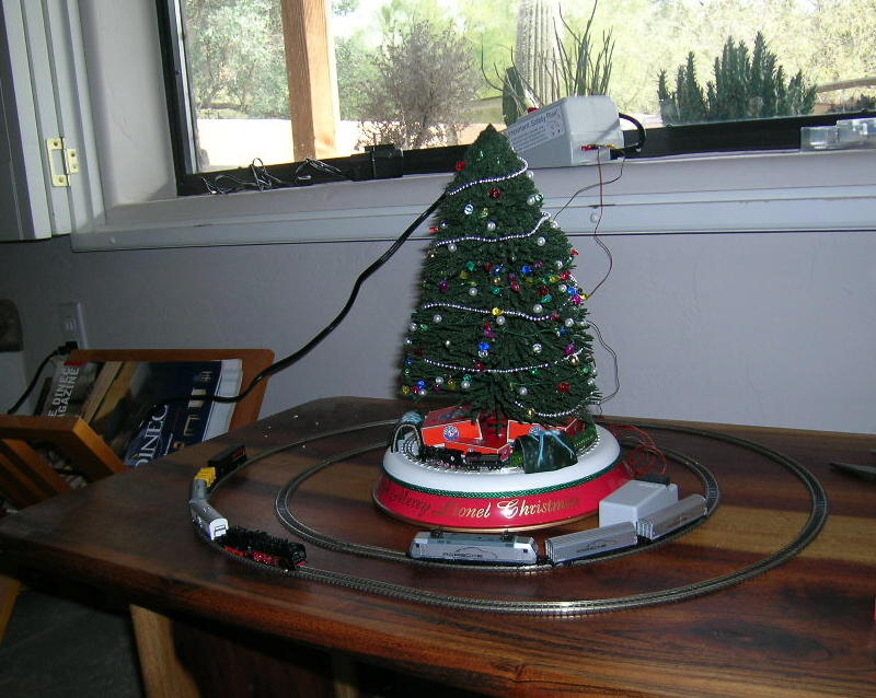 take action - Train For Around Christmas Tree