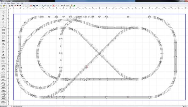 Track plan elev loop