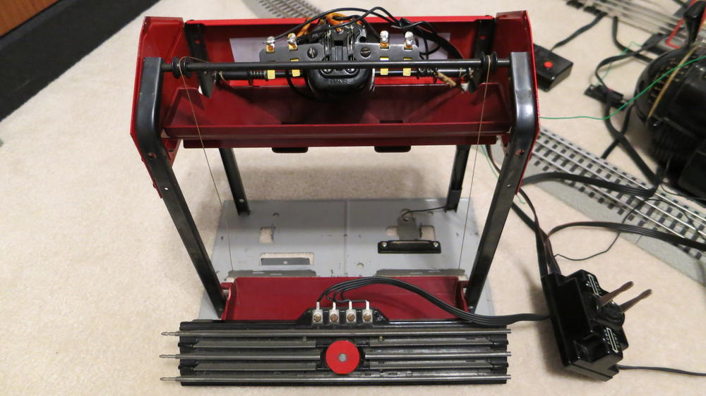 lionel 497 postwar coal loader and operating track question rse 1318