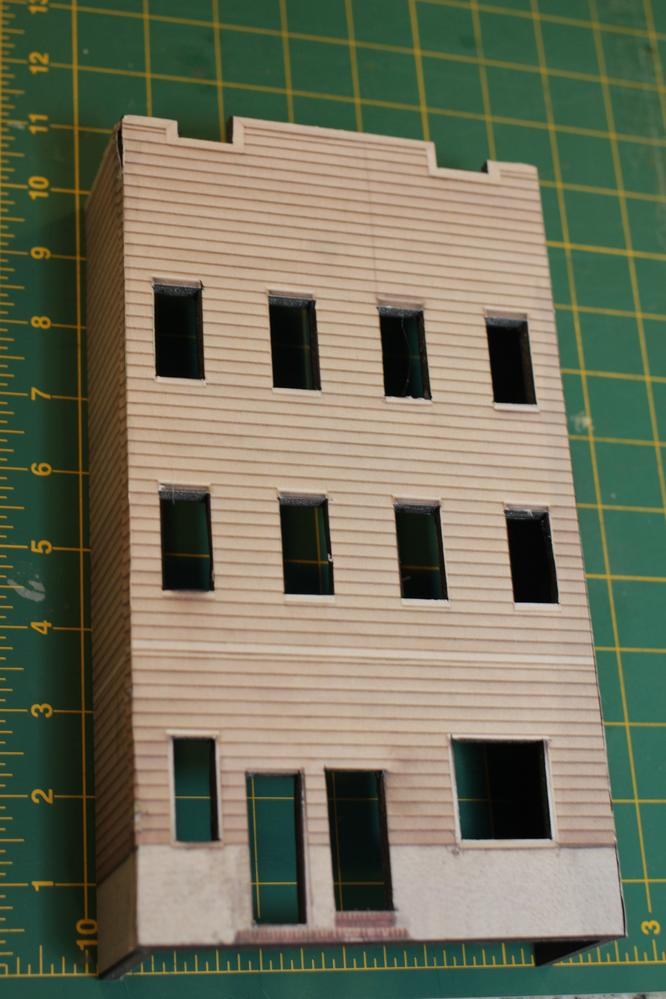 Need Card Stock Building Fronts O Gauge Railroading On
