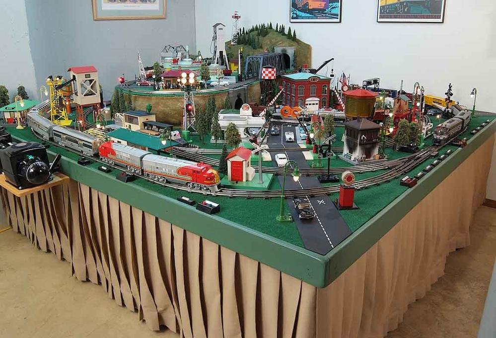 Let S See Your Postwar Style Layouts O Gauge Railroading