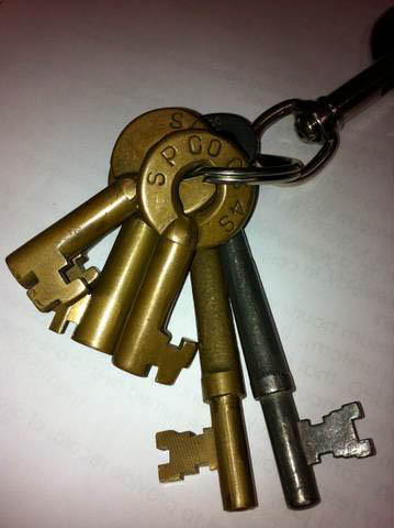 SP Brass Switch Keys