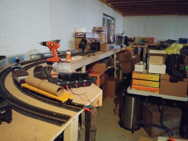 New Layout near end w tracks