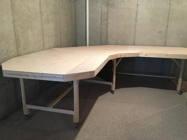 12x12 L - Plywood corner