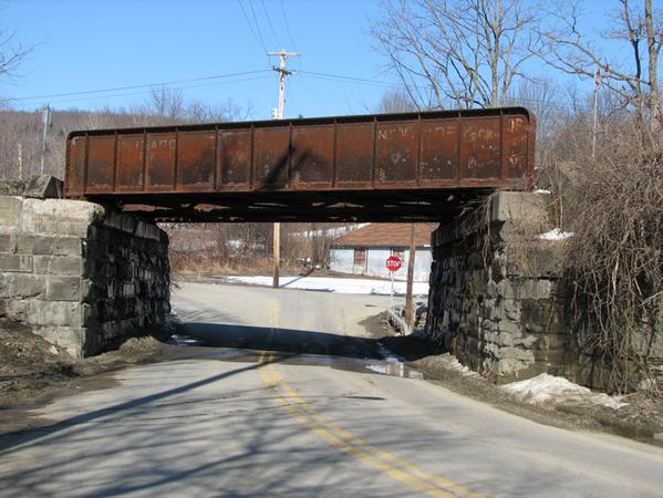 RR bridge over rural road