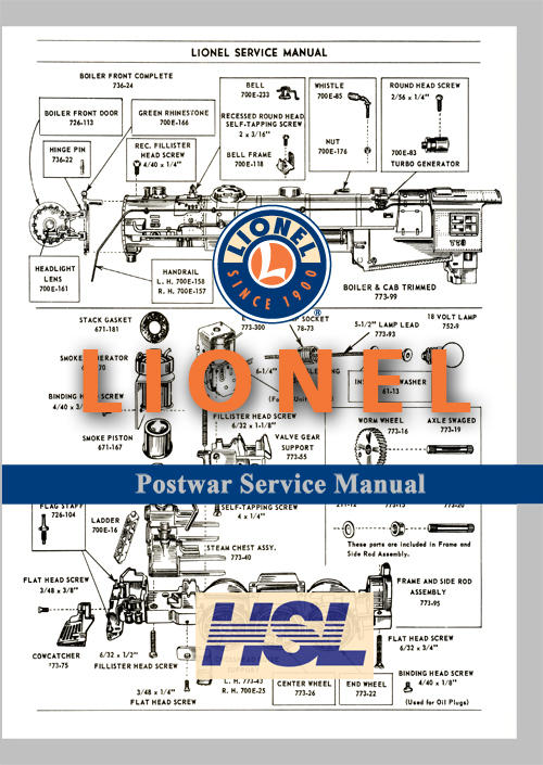 links for lionel exploded views and parts lists | o gauge ... mercedes benz ml55 amg exploded diagrams lionel 256 engine exploded diagrams #5