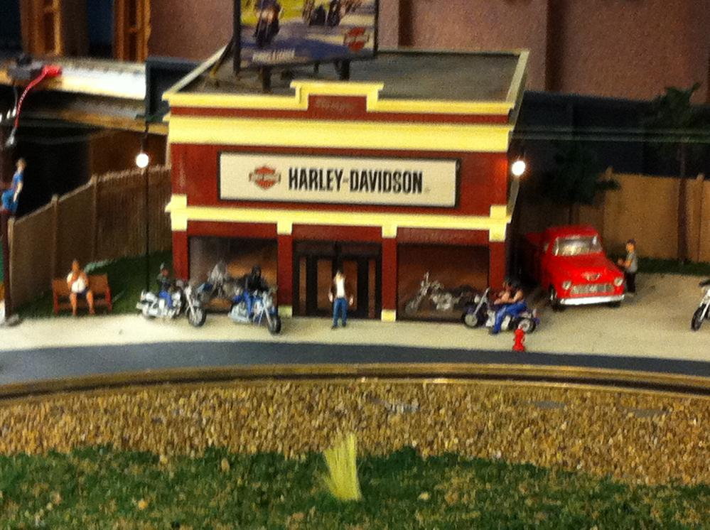 My Harley-Davidson Dealership | O Gauge Railroading On ...