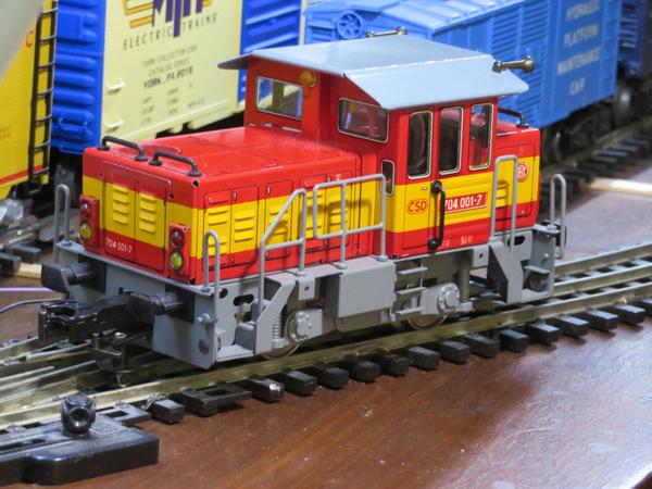 ETS t234 shunter front