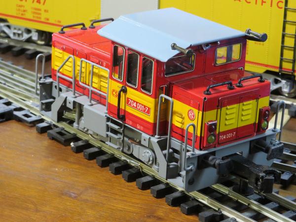 ETS t234 shunter rear