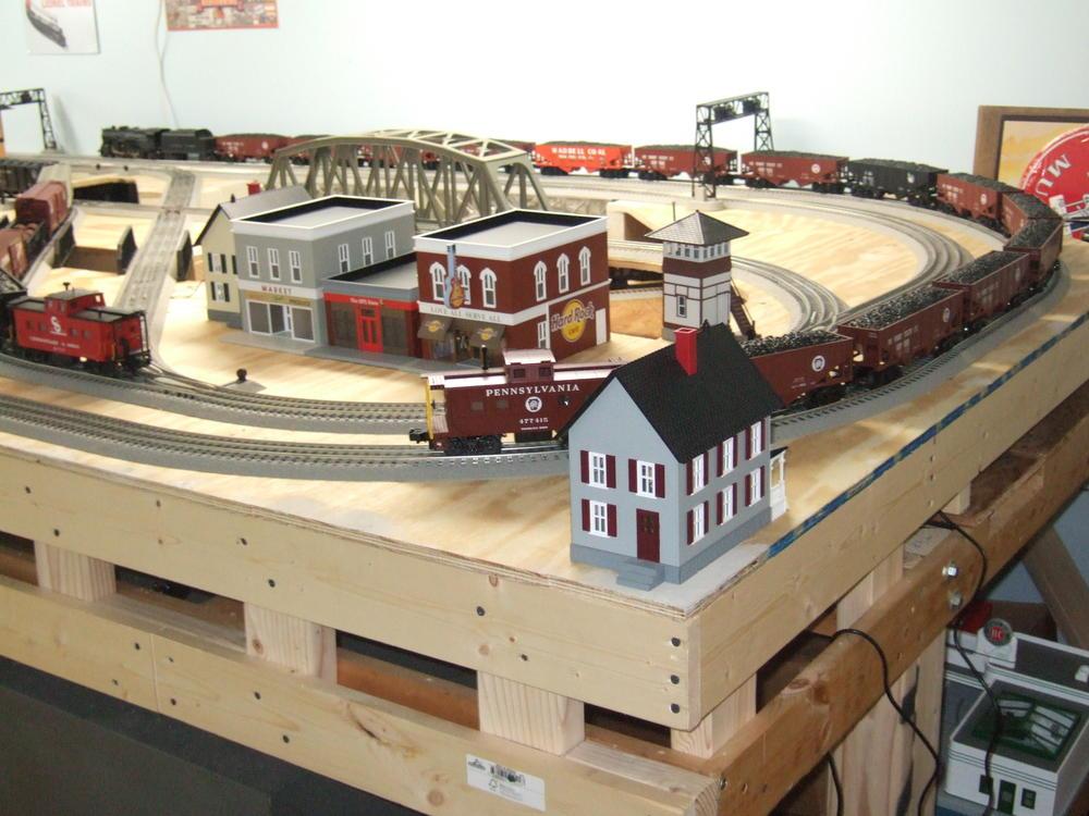 Basement Size O Gauge Railroading On Line Forum
