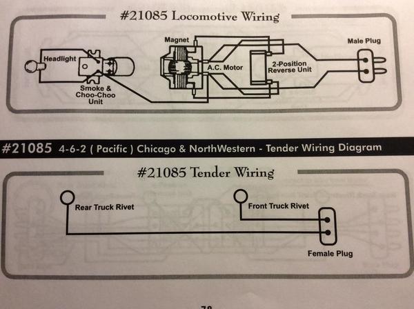 AF 21085 Reverse Unit Wiring